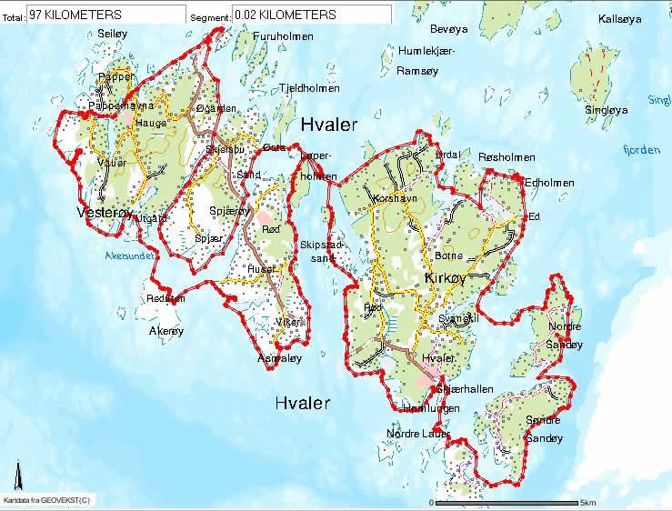 kart hvalerøyene Hvaler kart hvalerøyene